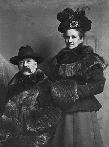 Alfred Merrit and wife.