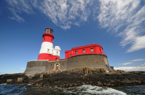 Longstone Lighthouse.