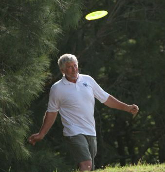 Going disc golfing