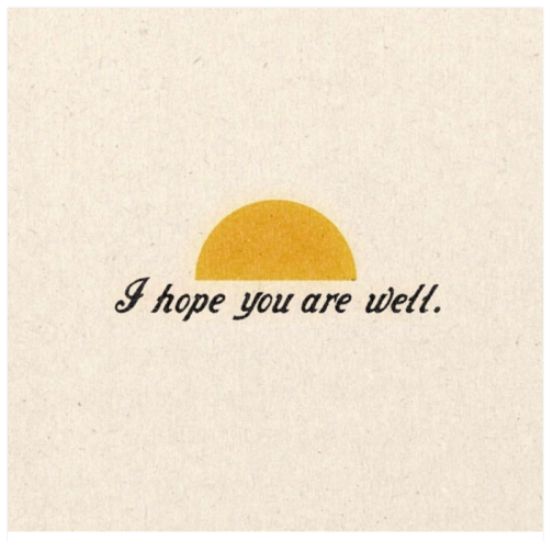 AIhopeyou are well